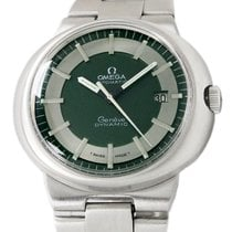 Omega Genève Steel 41mm Green No numerals United States of America, Utah, Draper