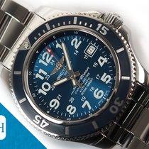 Breitling Superocean II 42 Acél 42mm Kék Arab