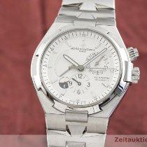 Vacheron Constantin Overseas Dual Time Acero 42mm Plata