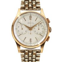 Zenith Yellow gold 38mm Manual winding 156D pre-owned South Africa, Johannesburg