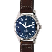 IWC Pilot Mark Steel 40mm Brown Arabic numerals Malaysia, Petaling Jaya