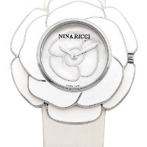 Nina Ricci Steel 40mm Quartz NNR051001 new