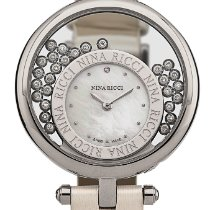 Nina Ricci Steel 38mm Quartz NNRD050001 new