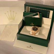 Rolex Day-Date II Gelbgold 41mm Schwarz Arabisch Deutschland, Lampertheim