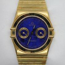 Omega Constellation Day-Date Oro giallo 34mm Blu Italia, Gussago