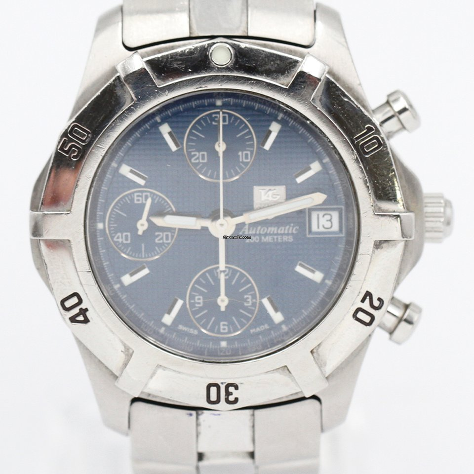 TAG Heuer Aquagraph CN2111 pre-owned