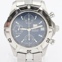 TAG Heuer CN2111 Steel Aquagraph 38mm pre-owned