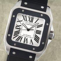 Cartier Santos 100 Stahl 37.5mm Silber Deutschland, Chemnitz