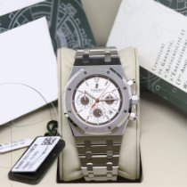 Audemars Piguet Royal Oak Chronograph Сталь 39mm Белый Без цифр