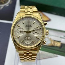 Rolex Chronograph Yellow gold 37mm Gold No numerals