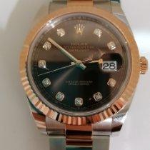 Rolex Rose gold Automatic Brown No numerals 140 mmmm new Datejust II