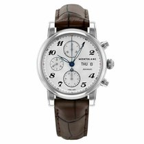 Montblanc Steel 39mm Automatic 106466 new United States of America, Florida, Sarasota