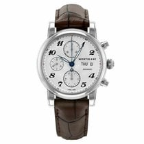 Montblanc Star Steel 39mm Silver Arabic numerals United States of America, Florida, Sarasota