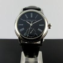 Frederique Constant Manufacture Classic Acier 42mm Noir Romains