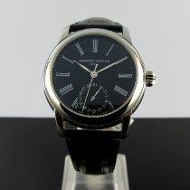 Frederique Constant Manufacture Classic Steel 42mm Black Roman numerals