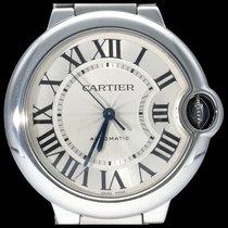 Cartier Ballon Bleu 36mm Сталь 36mm Cеребро Римские