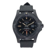 Breitling Avenger Blackbird Titanium 48mm Black No numerals United States of America, Georgia, ATLANTA