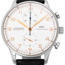 IWC Portuguese Chronograph occasion 41mm Cuir