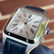 Cartier Santos Dumont Steel 31.4mm Silver Roman numerals United States of America, New York, NY