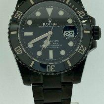 Rolex Ceramic Automatic Black No numerals 40mm new Submariner Date