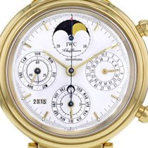 IWC Da Vinci Perpetual Calendar Yellow gold 39mm White No numerals United States of America, New York, Brooklyn