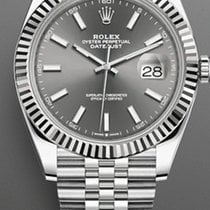 Rolex Datejust II Steel 41mm Grey No numerals United States of America, New York, Brooklyn