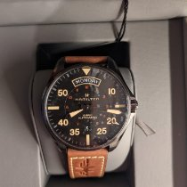 Hamilton Khaki Pilot Day Date Steel 42mm Black Arabic numerals United States of America, New York, Astoria