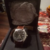 Hamilton Jazzmaster Viewmatic pre-owned Date Leather