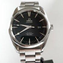 Omega Seamaster Aqua Terra Steel 39mm Black No numerals United Kingdom, Sheffield