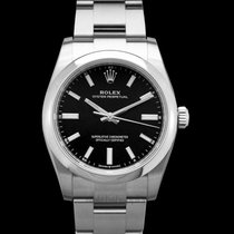 Rolex Oyster Perpetual 34 Steel 34mm Black United States of America, California, Burlingame