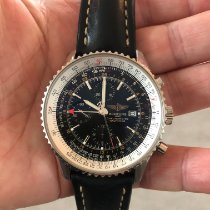 Breitling A24322 Steel 2005 Navitimer World 46mm pre-owned United States of America, New York, new york