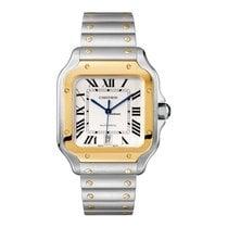 Cartier Santos (submodel) Gold/Steel Silver United States of America, Georgia, Alpharetta
