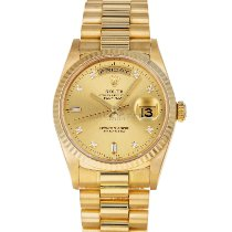 Rolex Day-Date 36 Yellow gold 36mm Gold No numerals United States of America, Maryland, Baltimore, MD