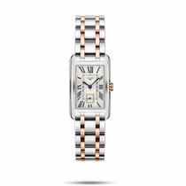 Longines DolceVita Gold/Steel 23.3mm Silver Roman numerals United States of America, New York, Bellmore