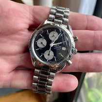 Omega Speedmaster Date Steel 38mm Black No numerals United States of America, Illinois, Chicago