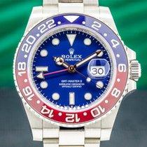 Rolex GMT-Master II White gold 40mm Blue Arabic numerals United States of America, Massachusetts, Boston