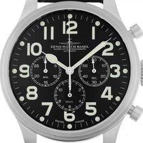 Zeno-Watch Basel Stahl 47mm Automatik 8559TH-3 gebraucht Deutschland, Stuttgart
