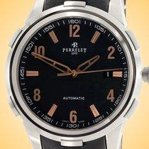 Perrelet Class-T Steel 42mm Black Arabic numerals United States of America, Illinois, Northfield