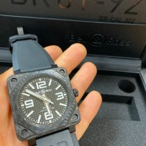 Bell & Ross Carbon Automatic Black 46mm new BR 01-92