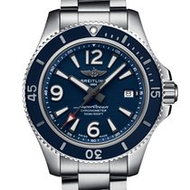 Breitling Superocean 42 new 2020 Automatic Watch with original box and original papers A17366D81C1A1