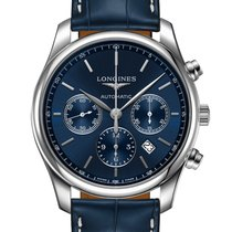 Longines Master Collection Steel 42mm Blue