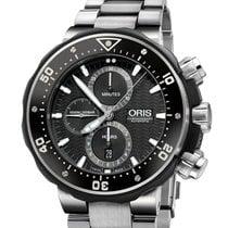 Oris 01 774 7727 7154-SET Titanium 2020 ProDiver Chronograph new