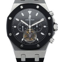 Audemars Piguet Royal Oak Tourbillon Steel 44mm Black United States of America, New York, New York