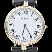 Cartier Trinity Or jaune 30mm Blanc Romains