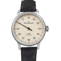 Meistersinger Steel 43mm Automatic AM903_SG02 new