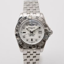 Breitling Galactic 32 Steel 32mm White