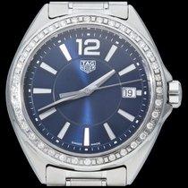 TAG Heuer Formula 1 Lady Acier 35mm Bleu Sans chiffres
