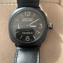 Panerai Radiomir Black Seal new 2009 Manual winding Watch with original box and original papers PAM 00292