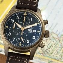 IWC Pilot Spitfire Chronograph IW387902 Très bon Bronze 41mm Remontage automatique