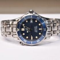 Omega Seamaster Diver 300 M Acier 36mm Bleu Sans chiffres
